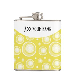 Personalized Abstract Yellow Polka Dots