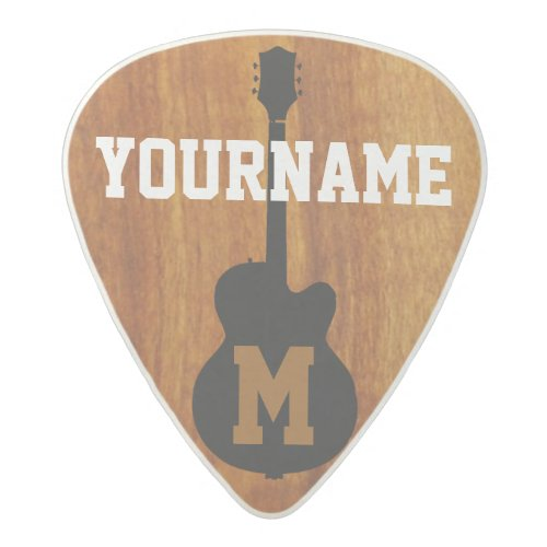 personalized acetal guitar pick