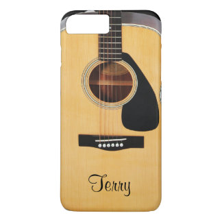 Personalized Acoustic Guitar  iPhone 7 Plus Case