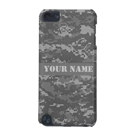 Personalized ACU Camouflage iPod Touch Case