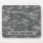 Personalized ACU Camouflage Mousepad