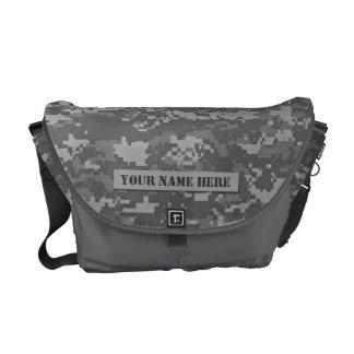 Personalized ACU Camouflage Rickshaw Messenger Bag