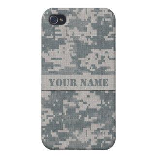 Personalized ACU Digital Camo iPhone 4/4S Case
