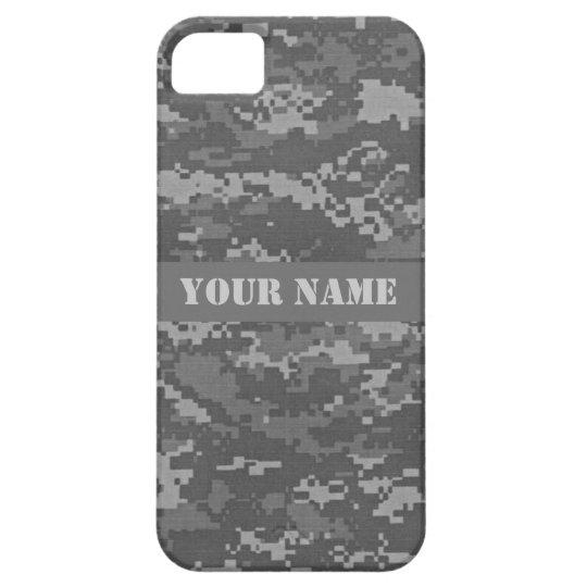 Personalized ACU Digital Camo iPhone 5/5S Case