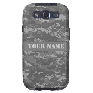 Personalized ACU Digital Camouflage Galaxy S3 Cover