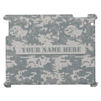 Personalized ACU Digital Camouflage iPad Case