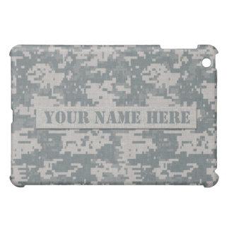 Personalized ACU Digital Camouflage iPad Mini Case