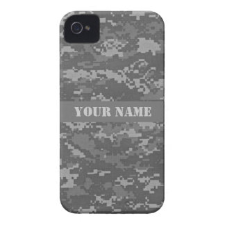 Personalized ACU Digital Camouflage iPhone 4 Case