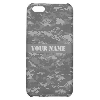 Personalized ACU Digital Camouflage iPhone 5C Case