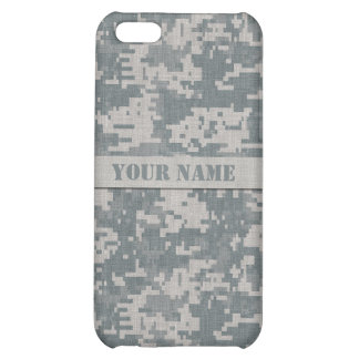 Personalized ACU Digital Camouflage iPhone 5C Case
