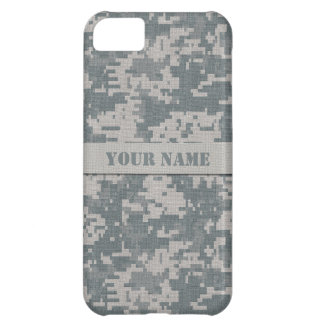 Personalized ACU Digital Camouflage iPhone 5C Cover