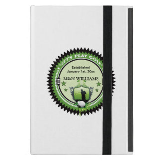 Personalized Add Your Name Play Golf Logo Cases For iPad Mini