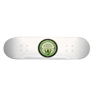 Personalized Add Your Name Soccer Team Logo Skateboard Deck