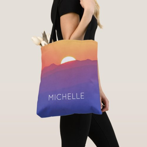 Personalized Add Your Own Name Artwork  Tote Bag