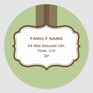 PERSONALIZED ADDRESS SEALS :: lustre 10