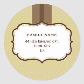 PERSONALIZED ADDRESS SEALS :: lustre 3