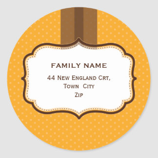 PERSONALIZED ADDRESS SEALS :: lustre 4