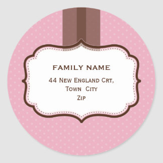 PERSONALIZED ADDRESS SEALS :: lustre 7