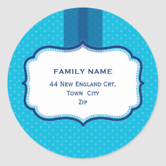 PERSONALIZED ADDRESS SEALS :: lustre 8