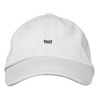 Personalized Adjustable Hat 2 Embroidered Hats