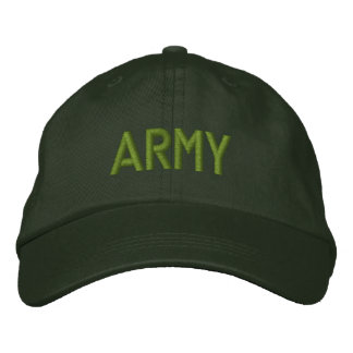 Personalized Adjustable Hat... ARMY Embroidered Baseball Cap