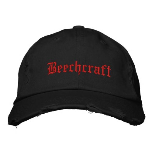 Personalized Adjustable Hat_BEECHCRAFT Embroidered Baseball Cap