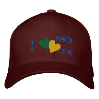 Personalized Adjustable Hat Mardi Gras