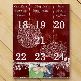 Personalized Advent Calendar Chocolate Countdown Calendars