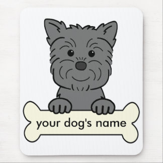 Personalized Affenpinscher Mouse Pad