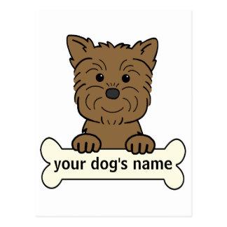Personalized Affenpinscher Postcard