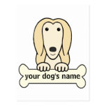 Personalized Afghan Hound Post Cards