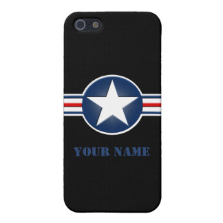 Personalized Air Force Logo iPhone 5C Case