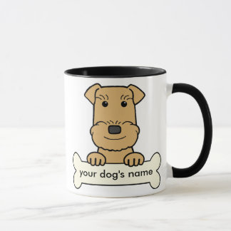 Personalized Airedale Mug