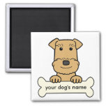 Personalized Airedale Refrigerator Magnets