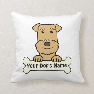 Personalized Airedale Terrier Pillows