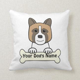 Personalized Akita Pillow