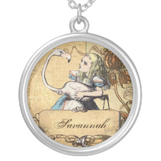 Personalized Alice In Wonderland Necklace