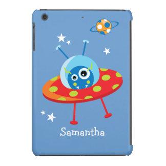 Personalized Alien Spaceship iPad Mini Cases