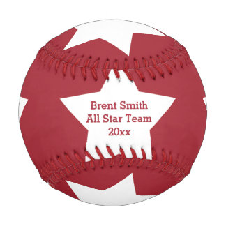 Personalized All Star Baseball
