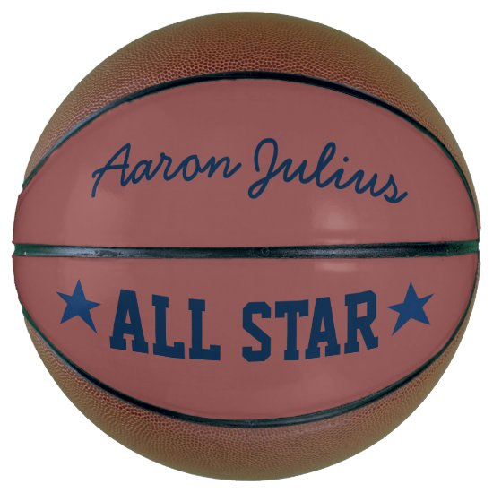 Personalized All Star Basketball