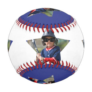 Personalized All Star Photo Baseball