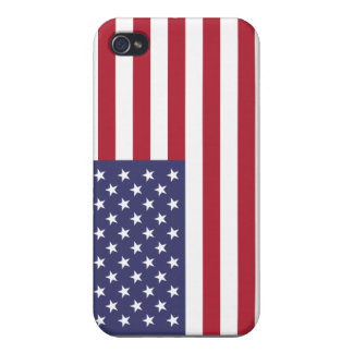 Personalized American Flag iPhone 4/4S Case