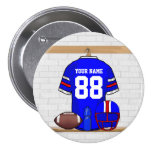 Personalized American Football Grid Iron jersey Pin