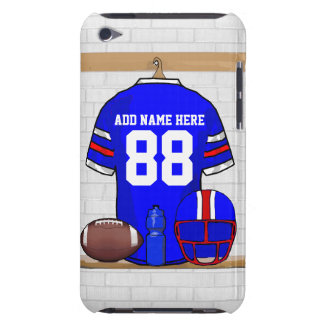 Personalized American Football Grid Iron jersey Barely There iPod Covers