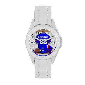 Personalized American Football Grid Iron jersey Watch