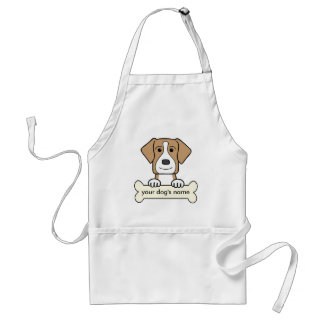 Personalized American Foxhound Adult Apron