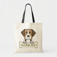 Personalized American Foxhound Bag