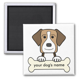 Personalized American Foxhound Magnet