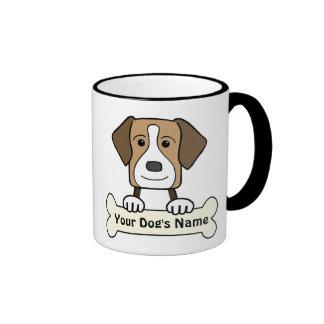 Personalized American Foxhound Coffee Mugs