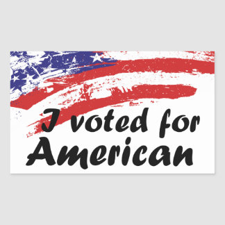 Personalized American Stickers